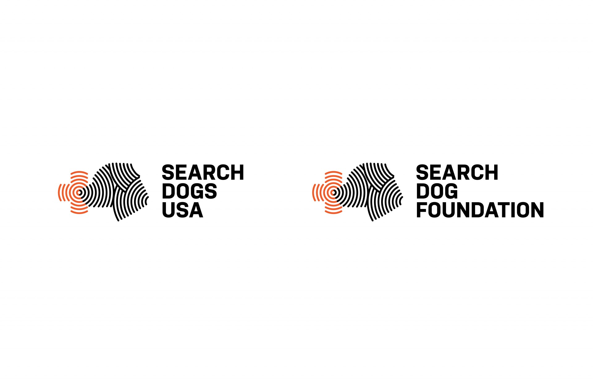 Jessica Minn Search Dogs USA | Visual Identity